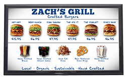 Restaurant Menu Board Digital Signage