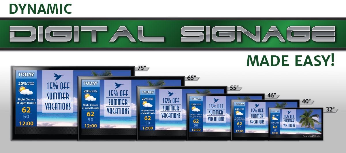 ZM Media: Dynamic Digital Signage Made Easy